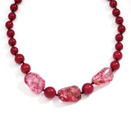 Lola Rose Hayley Beaded Adjustable Necklace