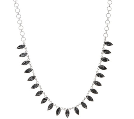 """As Is"" Shana Gulati Diamond Slice Marquise Nayika Necklace"