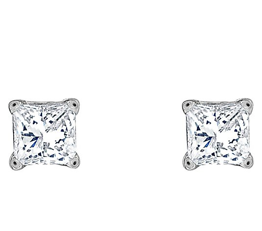 Affinity 14K 1/2 cttw Princess-Cut Diamond StudEarrings