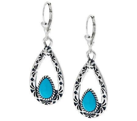 earrings beauty beaded blue products img