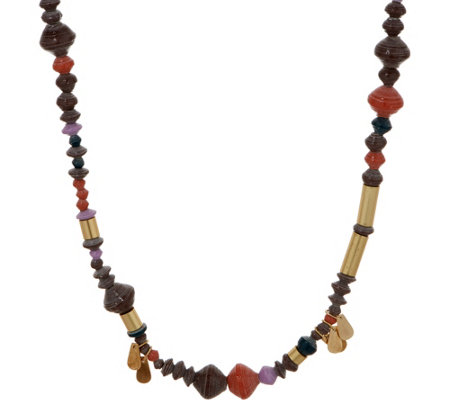31 Bits Multi Color 30 Rhythm Road Necklace