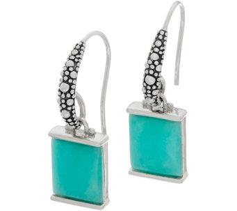 b3db2da1e Michael Dawkins Sterling Silver Starry Night Gemstone Drop Earrings -  J359101
