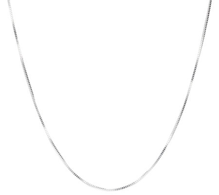 Ultrafine Silver 18 Veneziana Snake Chain Necklace 2 8g