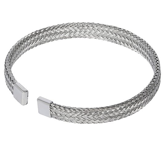 Steel by Design Woven Textured Cuff