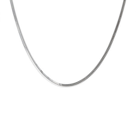 "Ultrafine Silver 20"" Snake Chain 12.5g"