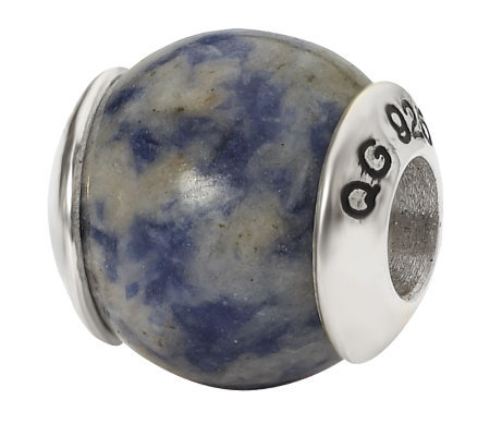 Prerogatives Sterling Sodalite Gemstone Bead