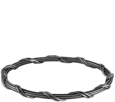 Peter Thomas Roth Sterling & Ruthenium Classic Bangle