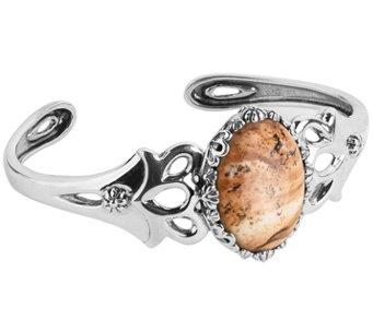 American West Classics Sterling Silver Gemstone Cuff - J485902