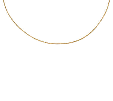 Veronese 18k Clad Adjustable Coreana Necklace