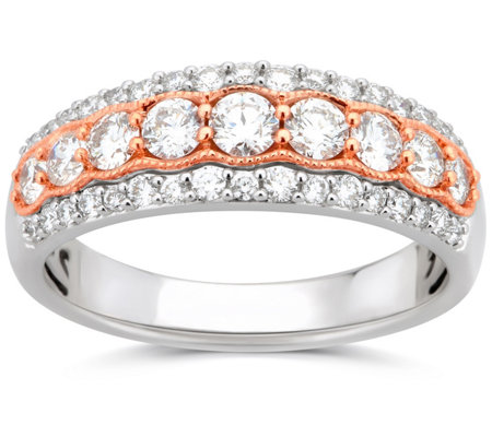 Affinity 1.00 Diamond Anniversary Band Ring, 14K
