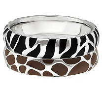 Simply Stacks Sterling Wild Stackable Ring Set - J310004