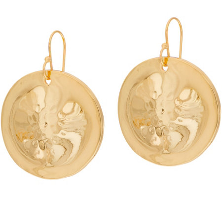 RLM Bronze Disc Earrings