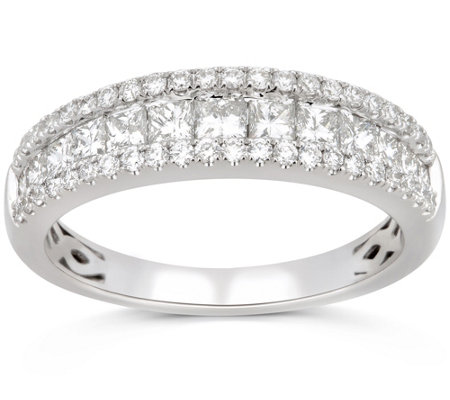 Affinity 1.00 Diamond Channel Set Band Ring, 14K