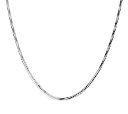 "Ultrafine Silver 24"" Snake Chain 14.5g"
