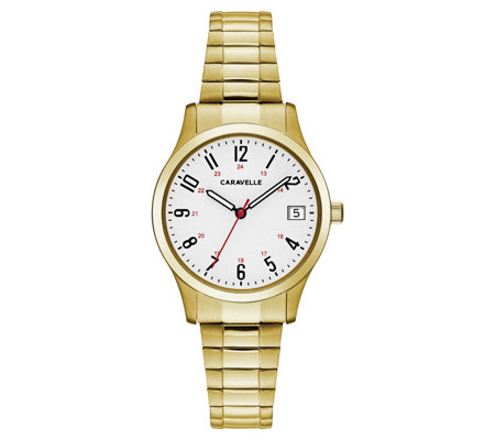 Caravelle Women's Easy Reader Expansion Bracelet Watch