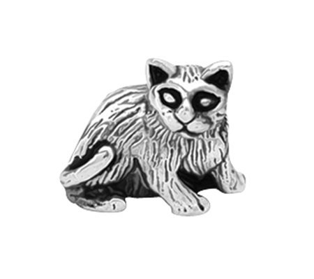 Prerogatives Sterling Cat Bead