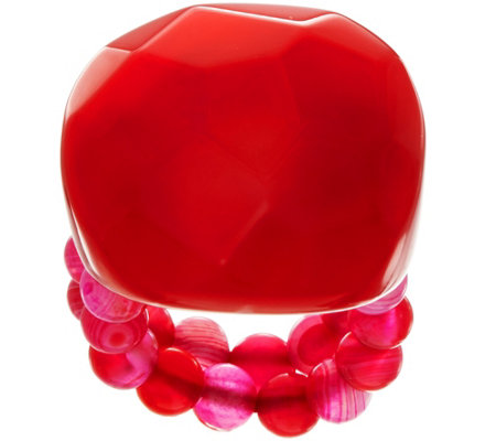Lola Rose Bohemian Express Gemstone Stretch Ring