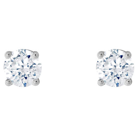 Affinity 14K 1/4 cttw Round Diamond Stud Earrings
