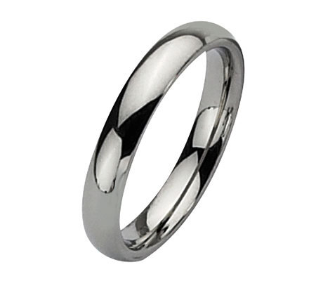 Stainless Steel 4mm Polished Ring