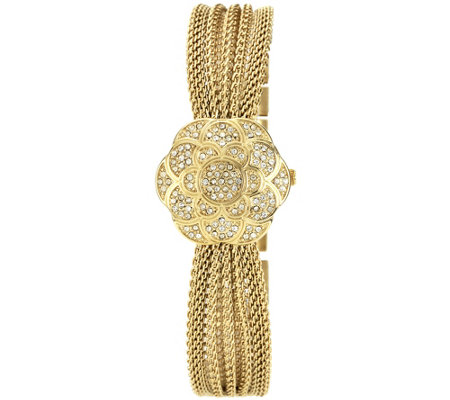 Anne Klein Women's Swarovski Crystal-Accented Watch