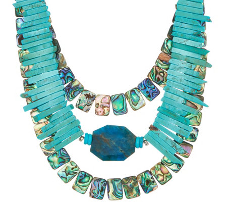 Jodie M Santa Cruz Layered Necklace