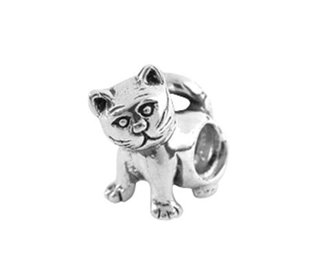 Prerogatives Sterling Kitty Bead