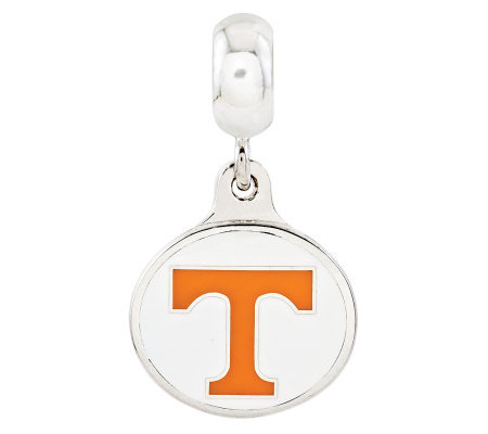 Sterling Silver University of Tennessee DangleBead