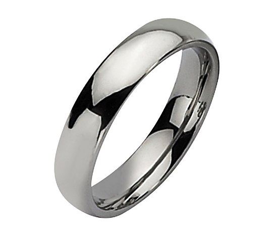 Steel by Design 5mm Polished Ring