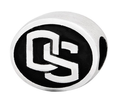 Sterling Silver Oregon State University Bead
