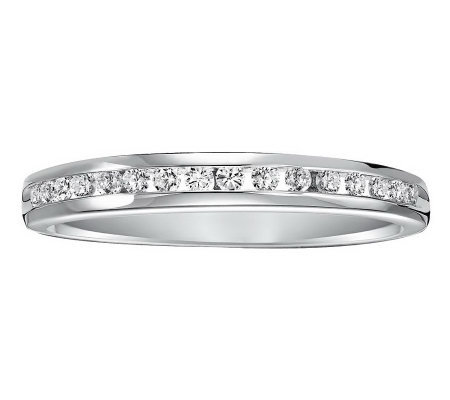 Diamond Anniversary Band Ring, 14K, 1/5cttw, by Affinity