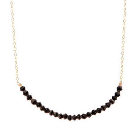 31 Bits Mini Beaded Optimist Bar Necklace