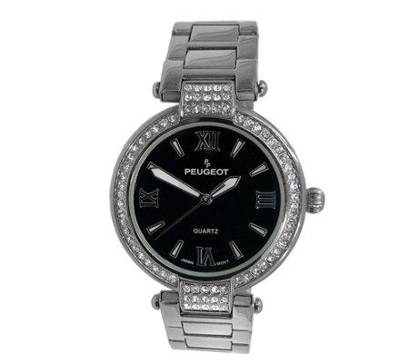 Peugeot Women S Crystal Bezel Watch