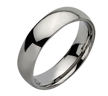 Stainless Steel 6mm Polished Ring