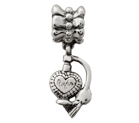 Prerogatives Sterling Perfume Bottle Dangle Bead