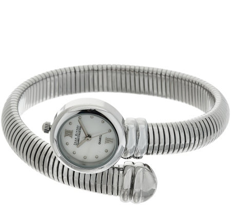 Joan Rivers Tubogas Coiled Wrap Watch