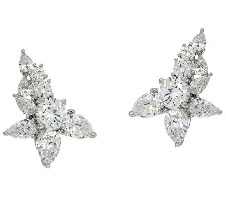 The Elizabeth Taylor 7.30cttw Simulated Diamond Ear Climber