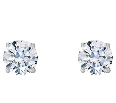 Affinity 14K 1/2 cttw Round Diamond Stud Earrings
