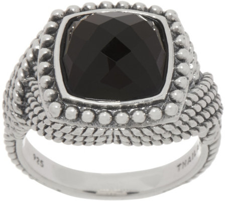 Tiffany Kay Studio Sterling Silver Onyx Ring