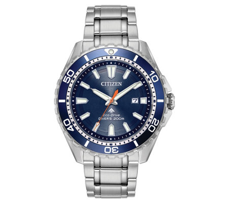 Citizen Eco-Drive Men's Stainless Steel Promaster Diver Watch