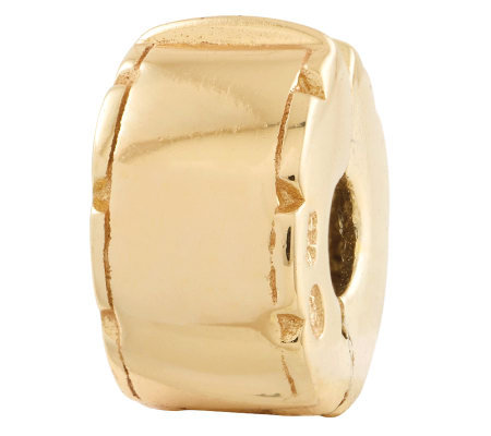 Prerogatives Gold Plated Sterling Hinged Clip Bead