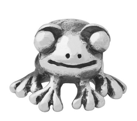 Prerogatives Sterling Frog Bead
