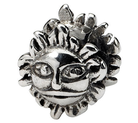 Prerogatives Sterling Silver Sun Bead
