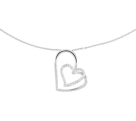 "Sentimental Expressions Sterling 18"" Thank YouMother Necklace"