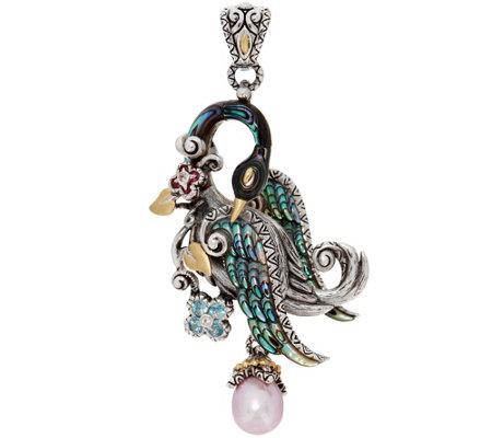 GiftJewelryShop Silver Plated Bird Photo Heart Charm Beads Bracelets European Bracelets Compatible