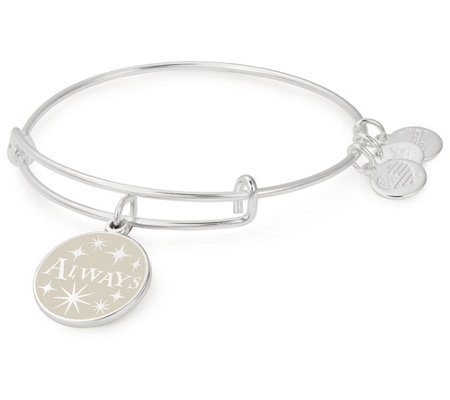 Alex and Ani Harry Potter Always Charm Bangle