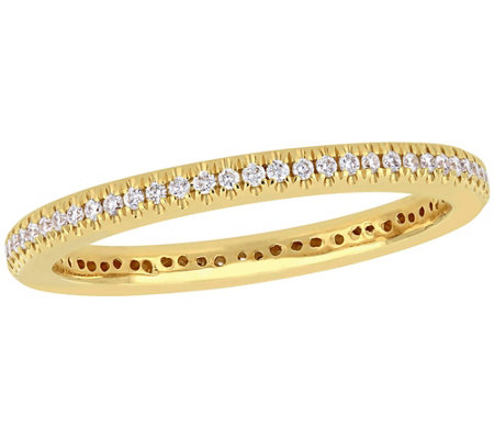 Affinity 1 5 Cttw Diamond Eternity Ring 14k Yellow Gold