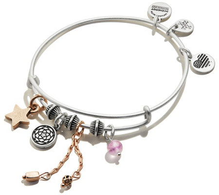 Alex and Ani New Beginnings Cluster Bangle
