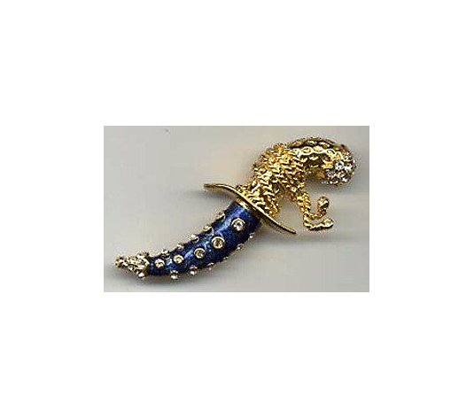 Kenneth Jay Lane's Pirate Dagger Pin