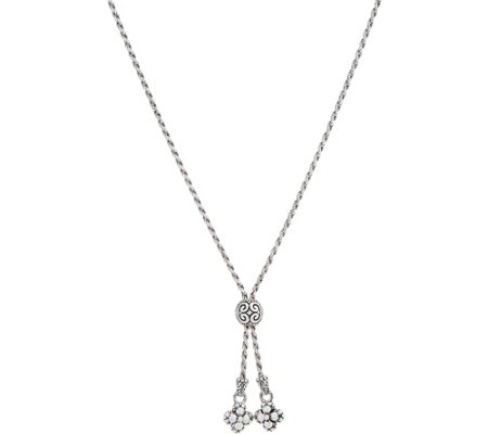 Barbara Bixby Sterling Silver 18k Gold Adjustable 18 Necklace 21 4g
