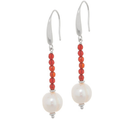 Honora Gemstone Earrings Sterling Silver